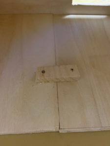 ペルチェ式冷蔵庫底板補強