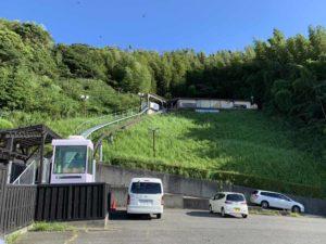 吉良観光温泉 野天風呂行きモノレール