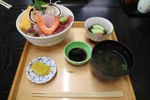 佐久島 ごはん屋 海 海鮮丼定食