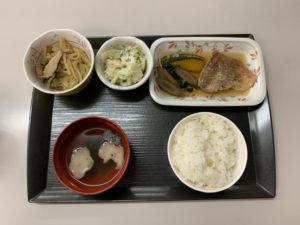 痔の手術後12日目の夕食