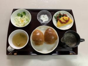 痔の手術後11日目朝食
