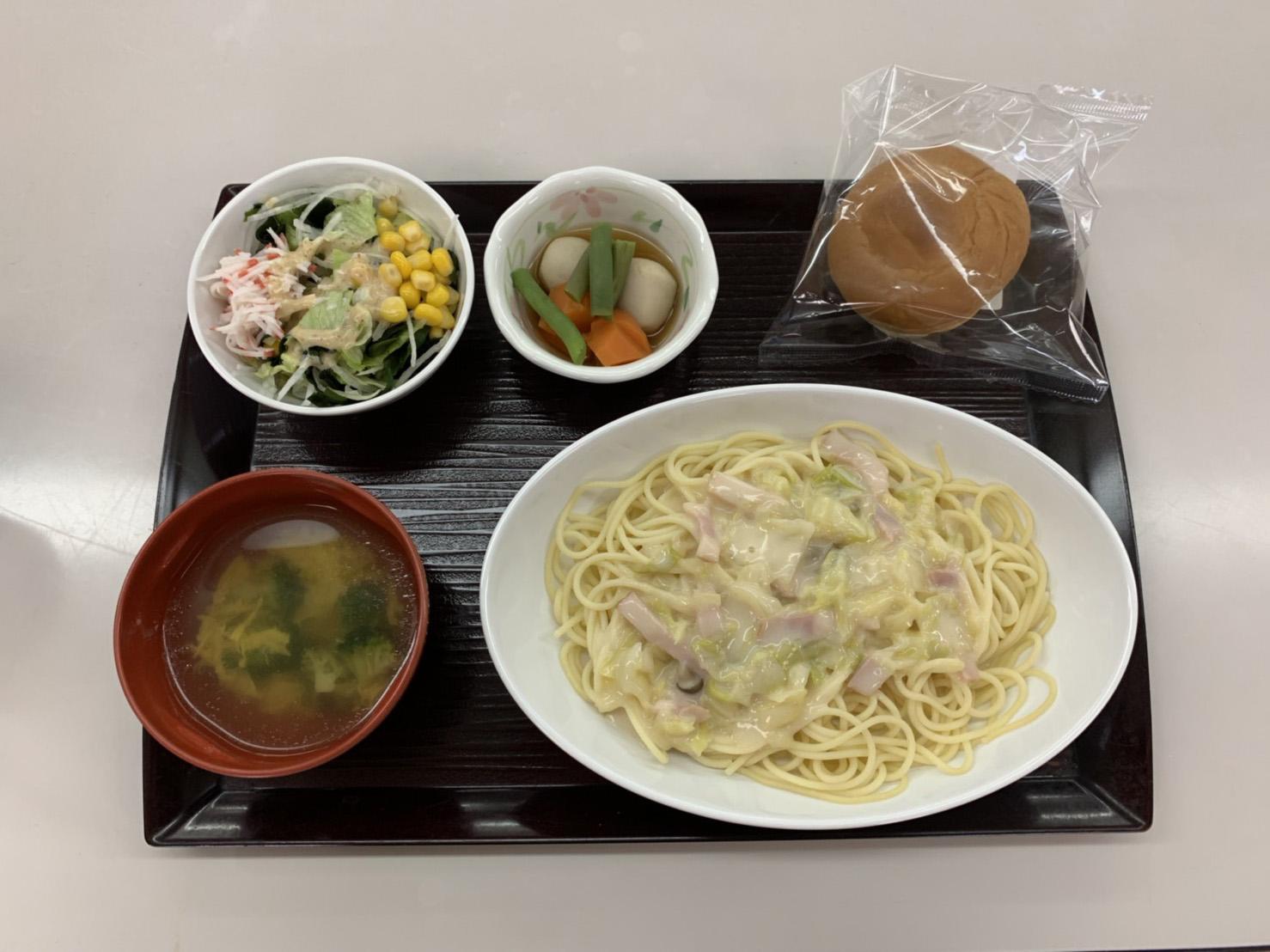 痔の手術後12日目昼食