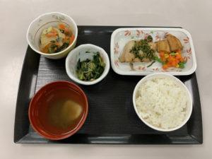 痔の手術後7日目夕食
